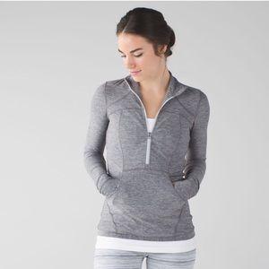 Lululemon Define Pullover Size 8 Jacket Slate Gray